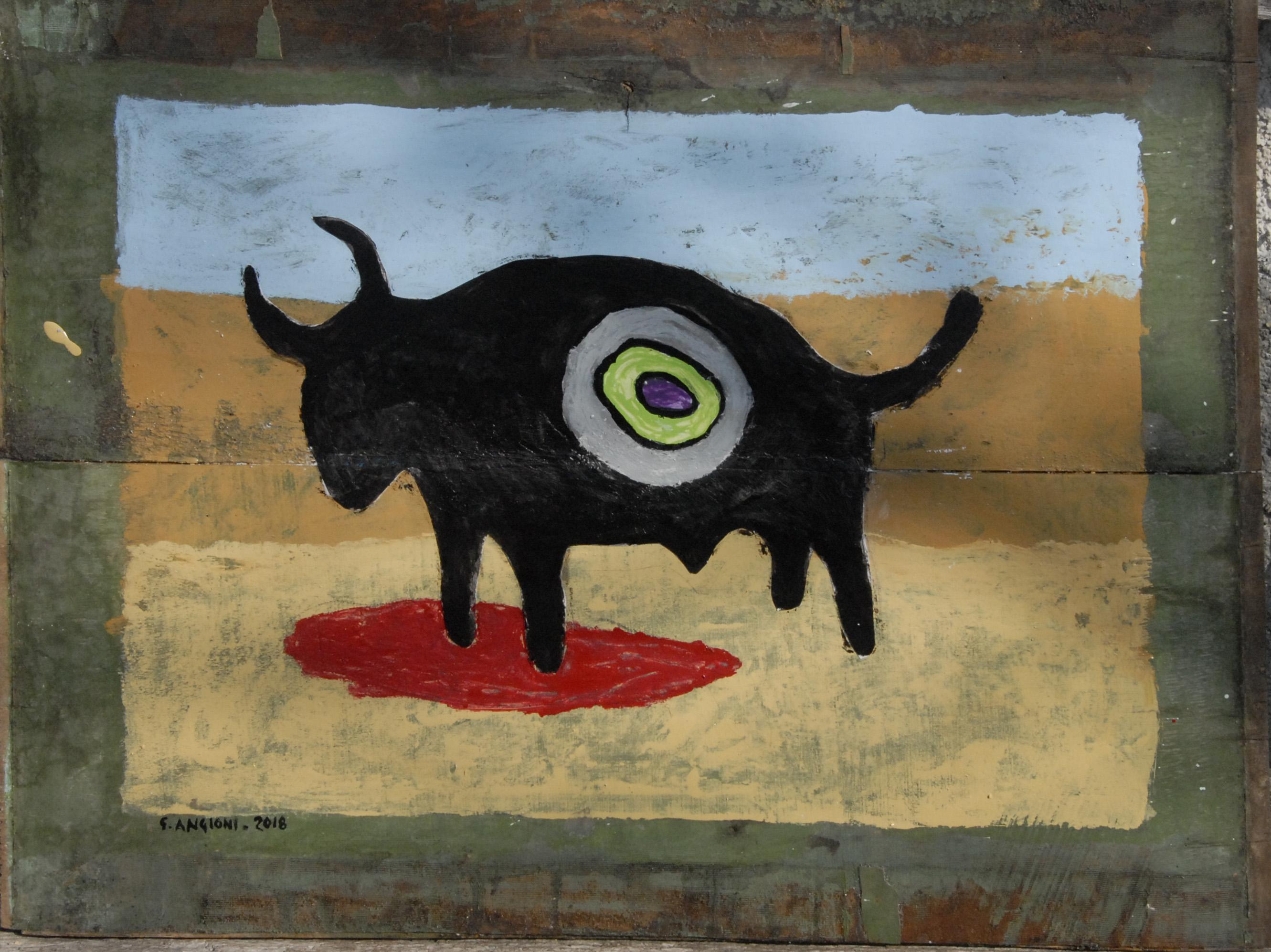 el toro bravo, cm60xH44,5