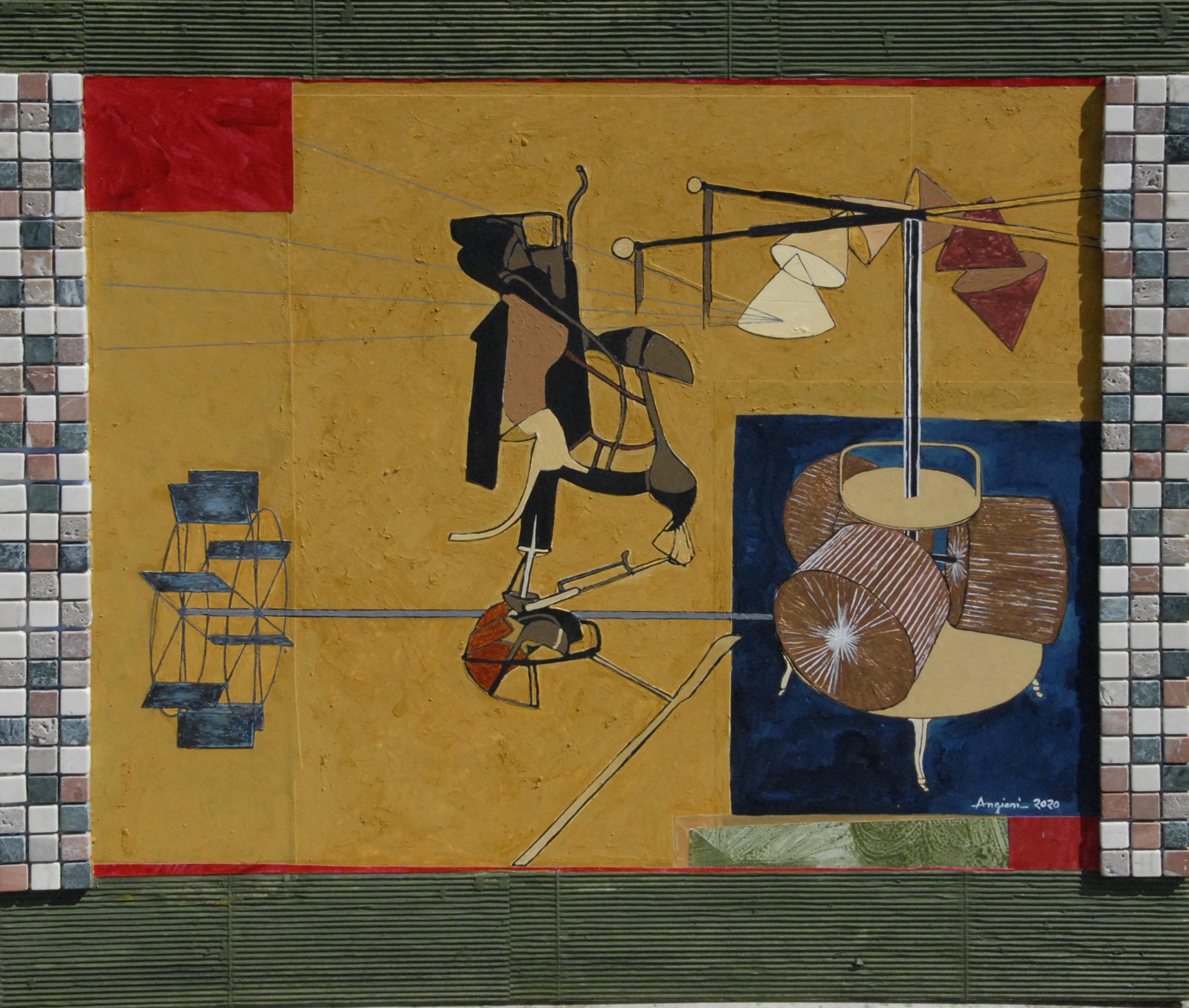 Duchamp, 2020, cm 65x60